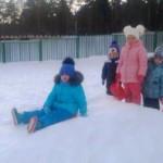 «Зимняя неделя здоровья» - группа «Радуга»