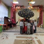 Праздник осени во второй средней группе «Красная шапочка»